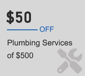 Plumbing Services Offer